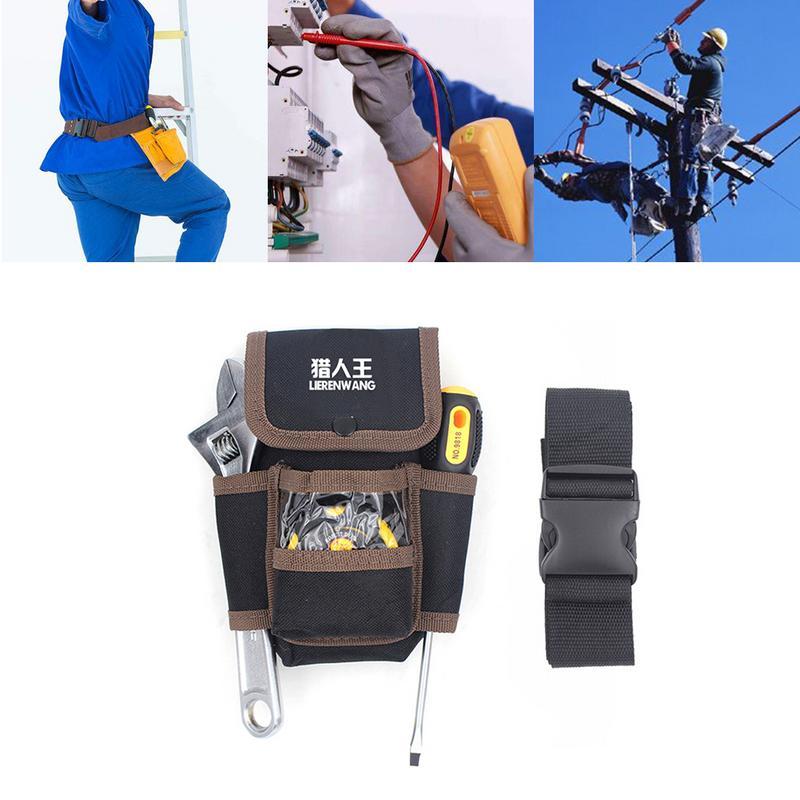 Waist Pocket Tool Belt Pouch Pocket Holster Storage Holder Electrician Tools Bag Tool Holder Organizer