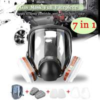 Automatic Filter Gas Mask Filters full Face Respirator Safety Protective Mask Anti Dust Anti Organic PM 2.5 Fog