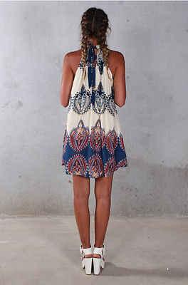 섹시한 여성 여름 boho 파티 드레스 비치 드레스 sundress 미니 드레스