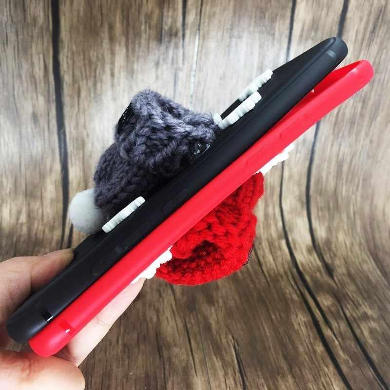 Модный мягкий силиконовый чехол для Xiao mi 8 mi 8 Lite A2 A1 Веселый Чехол для телефона с рождественским рисунком на Xio mi 5x 5x Max 3 pocophone f1 чехол s