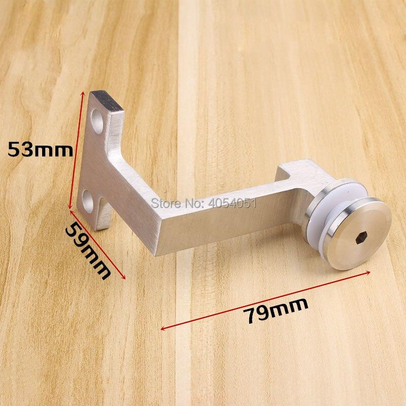 schwarz Stabile Handlauf-Halterung solide Gel/änder-Halterung Treppen-Handlauf flaches Gelenk 5 St/ück