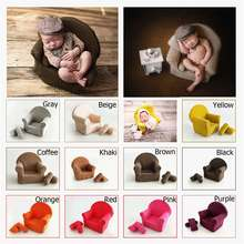 Soft Props Posing Mini Sofa Seat Chair for Newborn Baby