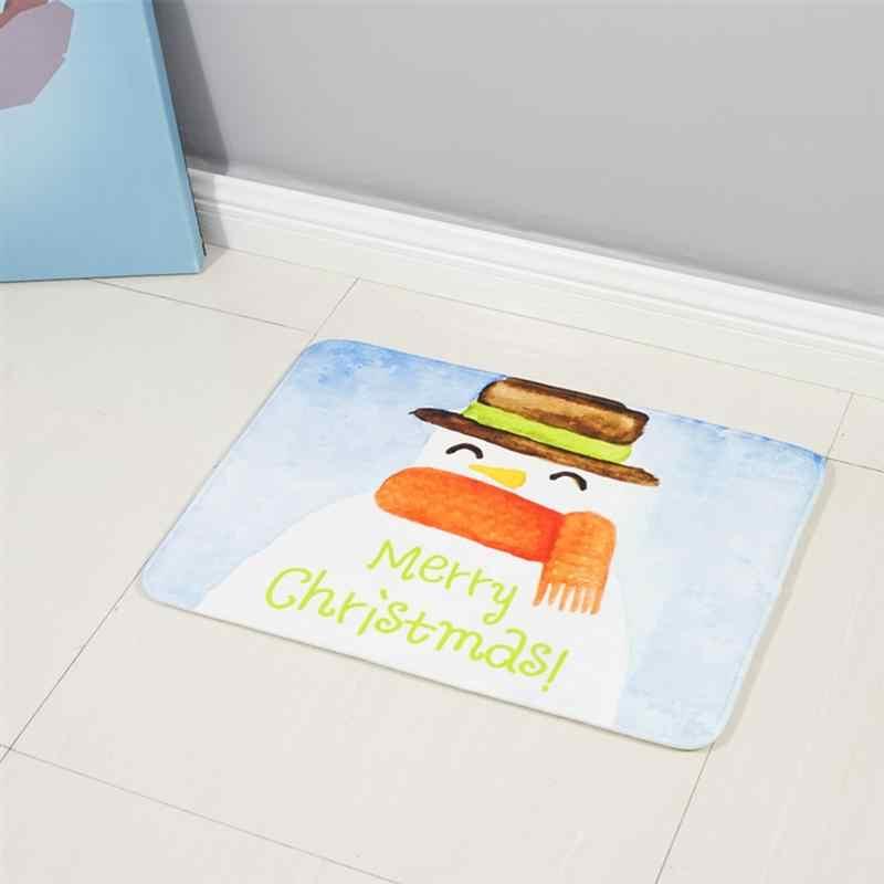1 шт. пенопластовый напольный коврик с практичным рисунком, нескользящий, впитывающий коврик для спальни для кухни, гостиной, ванной комнаты