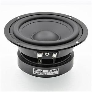 "Image 1 - DIY AUDIO HIFI 4.5 inch 4"" Pure Midrange speaker Unit  8OHM 80W Loudspeaker E 4019 Metal fully Sealed Alto Speaker MID Units"