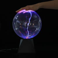 Plasma Magic Ball Light Touch Night Lamps Static Electrostatic Ion Crystal Light Transparent Table Lamp