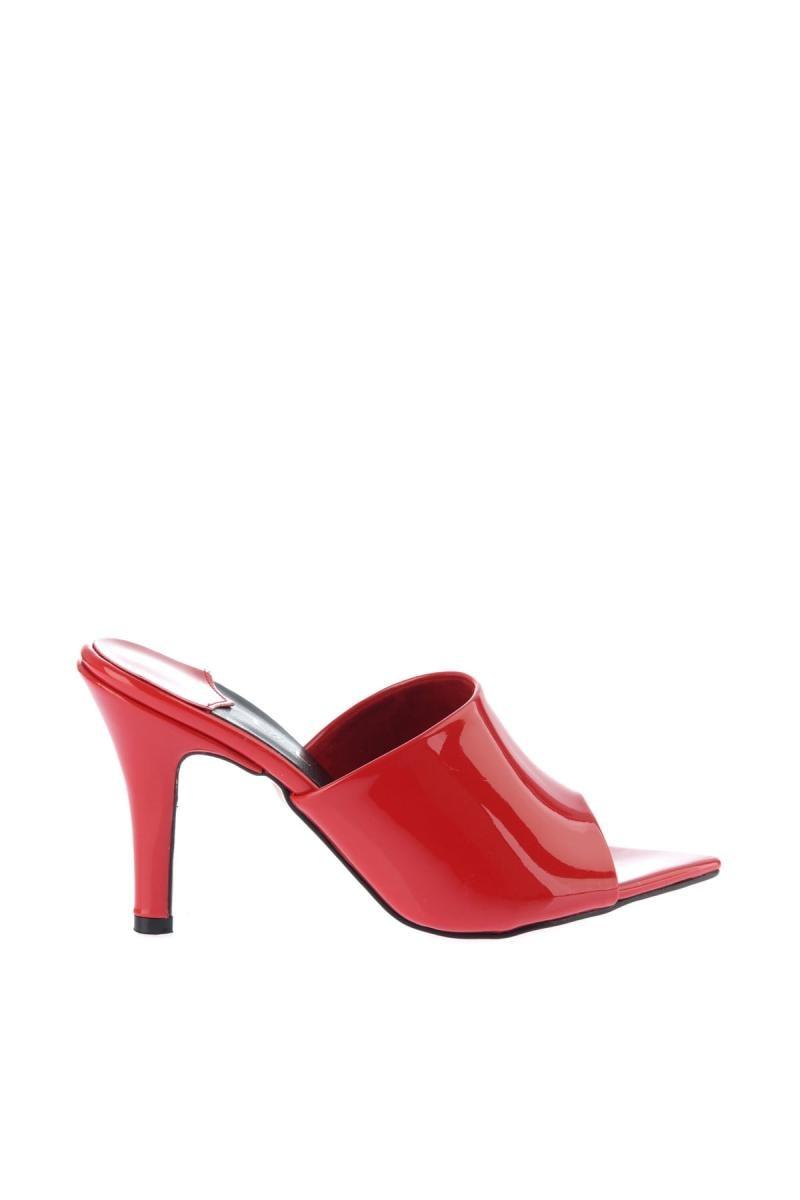 Zapatos Cuero Las De 12574 Tacón Rojo Mujeres Charol Soho Alto Rn7gZUU