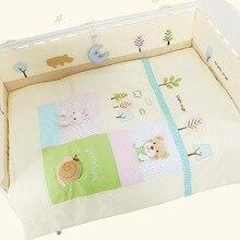 Мультяшная хлопковая кроватка объемная новорожденная кроватка детское постельное белье домашнее украшение детское одеяло игрушка-брелок Прямая поставка