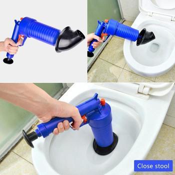 고압 에어 파워 드레인 블래스터 건 강력한 수동 싱크 플런저 오프너 클리너 펌프 화장실 샤워 욕실