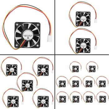 3 Pin CPU 5cm Cooling Cooler Fan Heatsinks Radiator for PC Computer 12V Router The host Accessories CPU Cooling System image