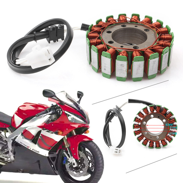 US $45 98 8% OFF|Motorcycle Magneto Engine Stator Generator Coil For Yamaha  YZF R1 1999 2000 2001 -in Motorbike Ingition from Automobiles &