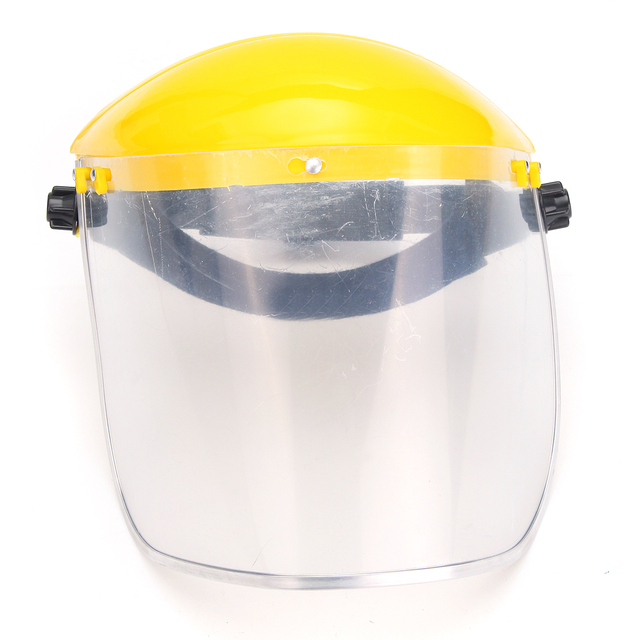 Safety Face Shield >> Us 9 35 41 Off Transparent Clear Grinding Safety Face Shield Screen Mask Visors For Eye Face Protection Face Shield Solder Mask In Masks From