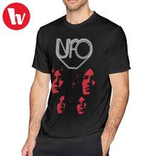 fbf1092a11 Jimi Hendrix Camiseta UFO T-Shirt Tee de Manga Curta 6xl Camisa de Algodão  100