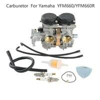 1PC Carburetor Kit For Yamaha Raptor 660 660R YFM660/YFM660R 2001 2005