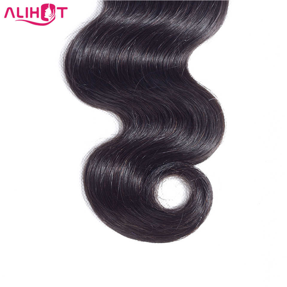 Али Горячие бразильские волнистые человеческие волосы 1 шт. пучки волос плетение 8-32 дюймов натуральный цвет Бесплатная доставка волосы remy