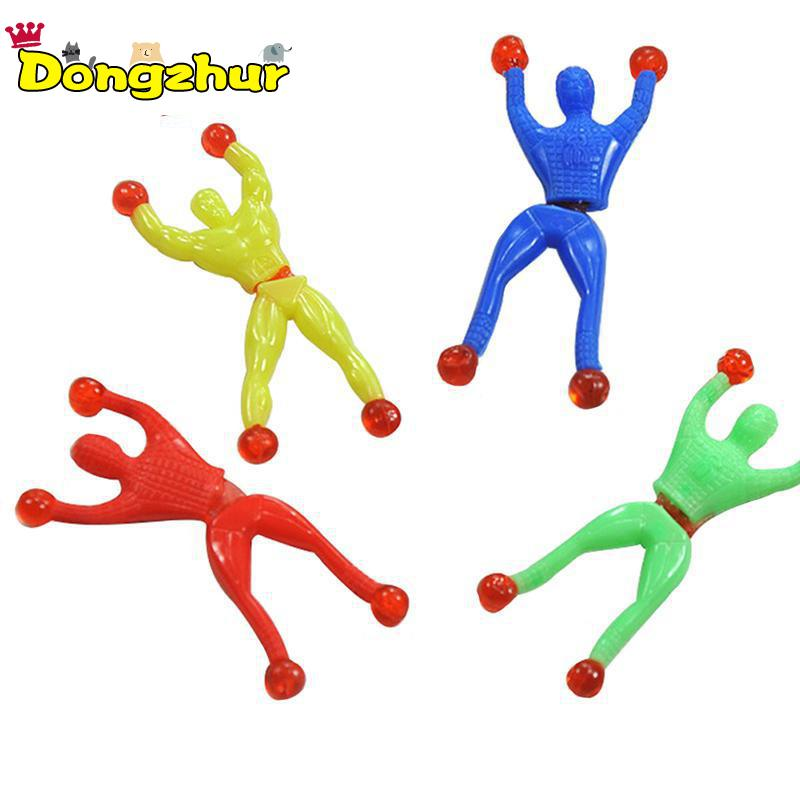6pcs Sticky Wall Climbing Climber Men Kids Party Toys Fun Favors Supplies Pinata Fillers Birthday Gift LMY200