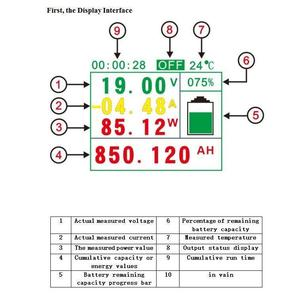 Image 5 - DYKB 100A/200A/300A/500A LCD Voltmeter ammeter \ temperature \ coulomb \ capacity \ power meter \ battery system monitor shunt