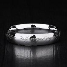 ¡Novedad! Anillos de tungsteno de 5mm de ancho con gran pulido, anillos de plata/oro para hombre y mujer