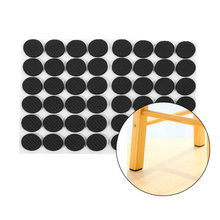 48Pcs Non-slip Self Adhesive Furniture Rubber Feet Pads Mat Round Sticky Pad Table Chair Floor Protectors For Sofa Chair Leg Hot(China)