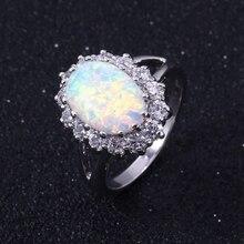 Opal Egg Ring Trendy