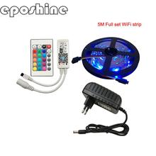 11.11 sale Promotional SMD5050 Wireless Smart LED Flexible Strip Light with Alexa Google Home RGB Smart LED Strip