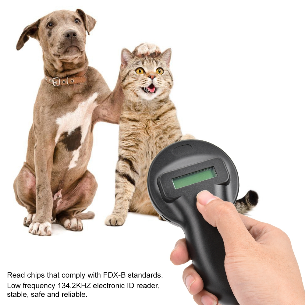 Control Card Readers Ws250 Rfid Ear Tag Reader Handheld Pet Microchip Portable Animal Scanner 134.2khz 2019 Moderate Cost