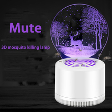 Creative 3D USB Mosquito Killer Lamp LED Home killer Pregnant Woman Baby Without Radiation Repellent