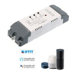 Универсальный Смарт-переключатель Wi-Fi, 2-канальный, Стандартный, беспроводной, с таймером, дистанционным управлением через приложение для т...