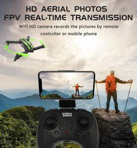 Image 5 - GW68 wifi FPV مع 0.3MP/2.0MP زاوية كاميرا 12 دقائق زمن الرحلة Selfie البسيطة RC الطائرة بدون طيار Quadcopter