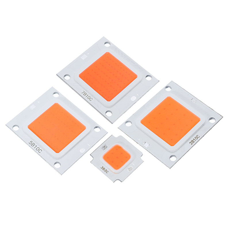 CLAITE 10W 20W 30W 50W 70W 100W LED Grow Light Chip Full Spectrum DC9-10V / DC20-32V For Indoor Plant Growth