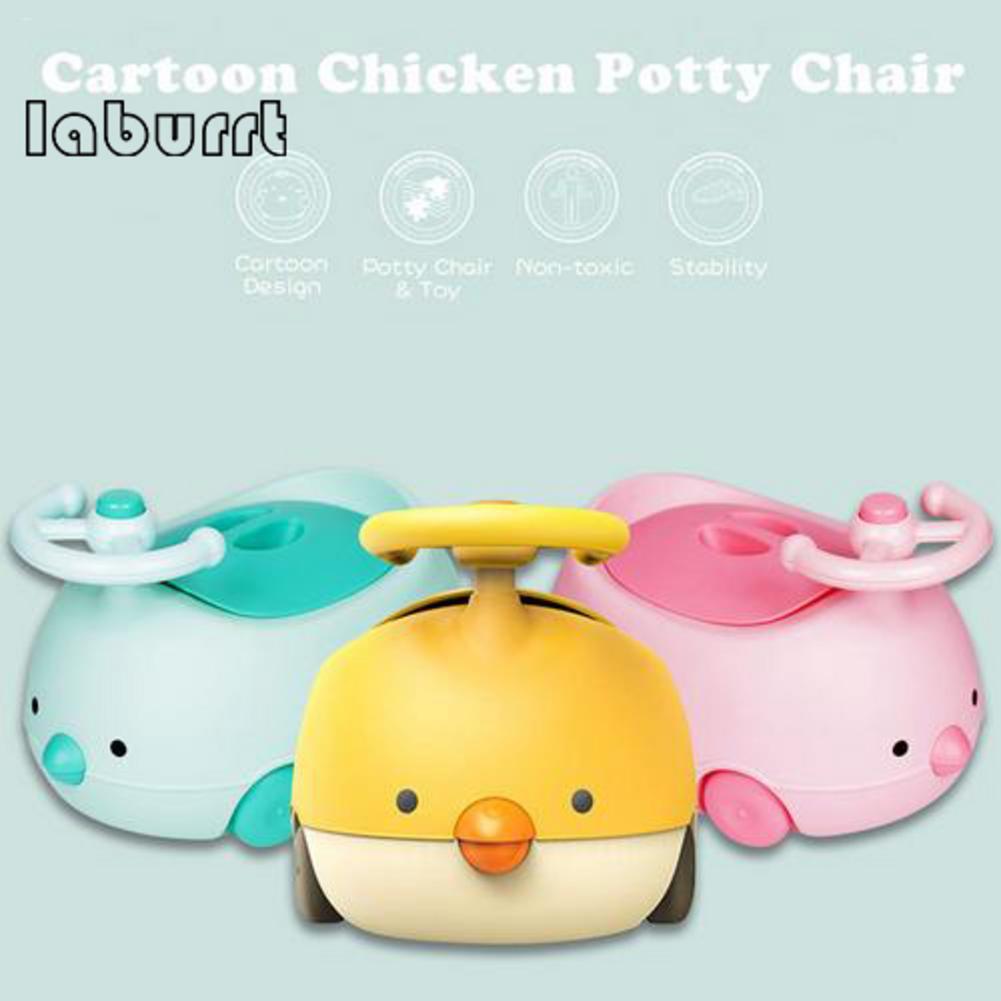 cadeira comoda wc frango forma do carro das criancas do bebe potty com punho e respingo