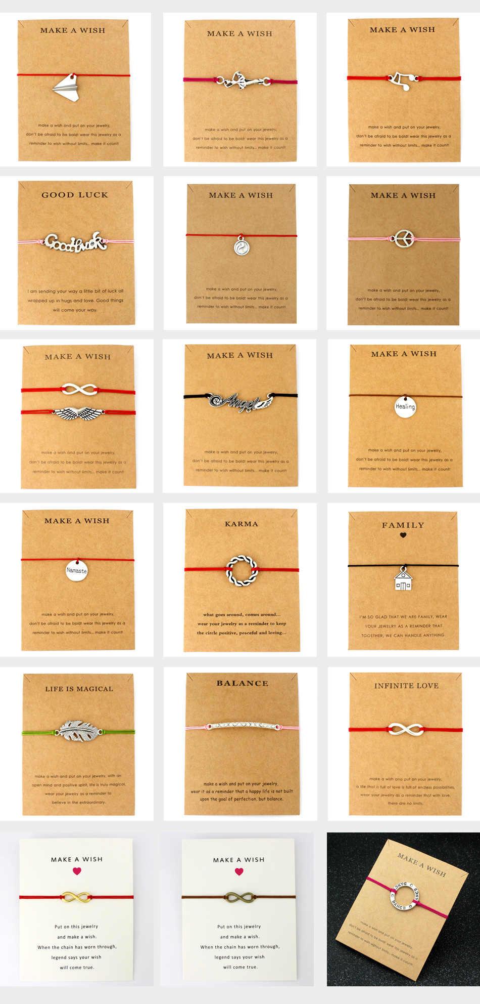 Диабетический тип 1 Сигнальный Браслет аутиста c пазлами браслеты с подвесками красная веревка цепь для женщин и мужчин любовь дружба модные ювелирные изделия подарок