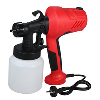 230V 400W Electric Paint Sprayer Gun Airless Painting Compressor Machine Adjustable Flow Control for Cars Furniture Woodworking