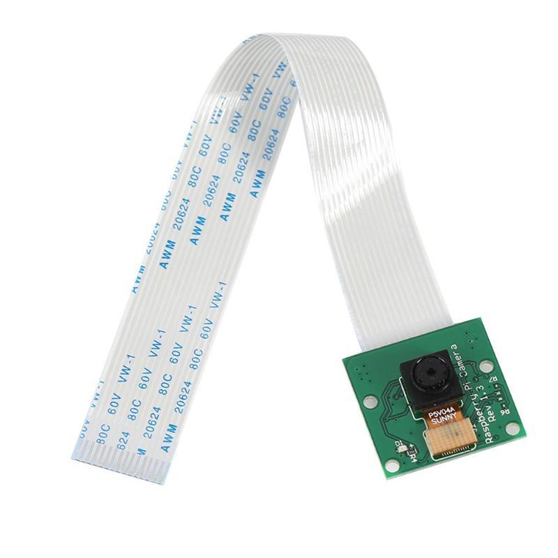 VODOOL 5 MP Camera Board Module 1080P+15cm Cable OV5647 Webcam Compatible For Raspberry Pi 3 Model B+ Plus / 3 /2 High Quality