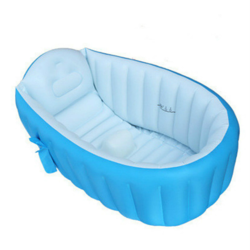2019 bébé bain enfants baignoire Portable gonflable sécurité épaississement Washbowl bébé bain pour nouveau-né garder au chaud piscine