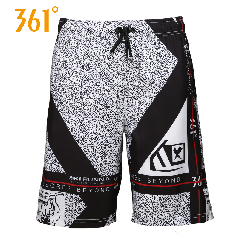361 Men Board Shorts Mens Swimming Surfing Beach Pants Sports Quick Dry Mens Swimming Trunks Boxer 2018 Summer Male Swim Wear