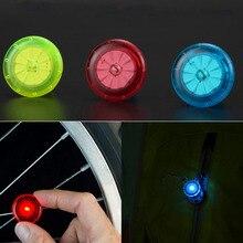 Светодиодный сигнальный светильник на колесах s Красочные для езды на велосипедах, фиксированных на цикл говорил светильник для Шин Флэш-светильник ing