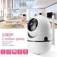 1080 P умная Беспроводная ip-камера аудио Wifi камера видеонаблюдения домашняя сигнализация 2.0MP камера видеонаблюдения внутренняя Камара alexa для echo