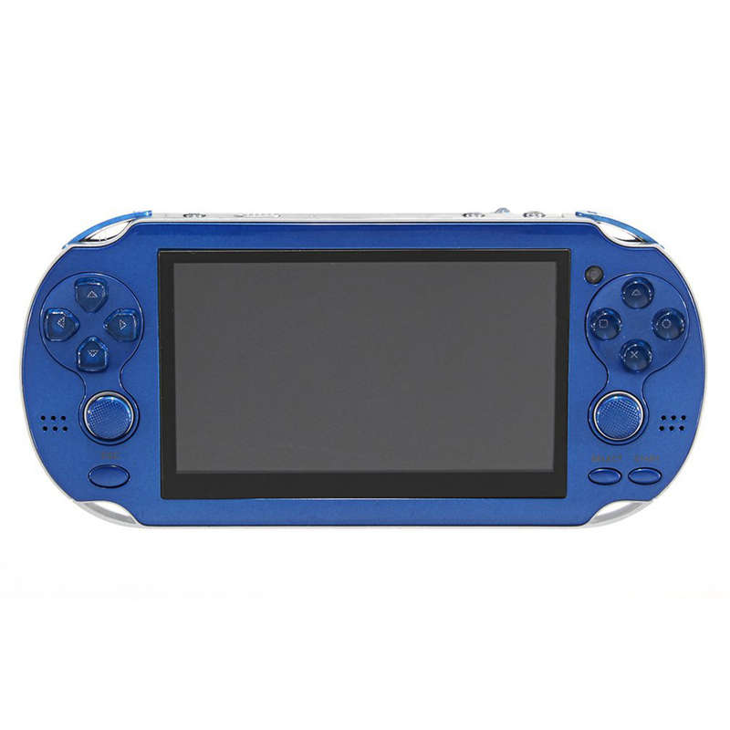 4.3 Inch Handheld Game Console Player Built-In 300 Games For Kids Adults Support For Game/Camera/Video/E-Book Us Plug