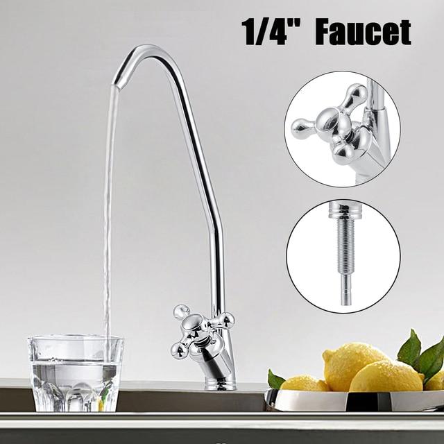 Come Calcolare La Pressione Dell Acqua Del Rubinetto.Osmosi Inversa Finitura Cromata Acqua Potabile Filtro Lavandino