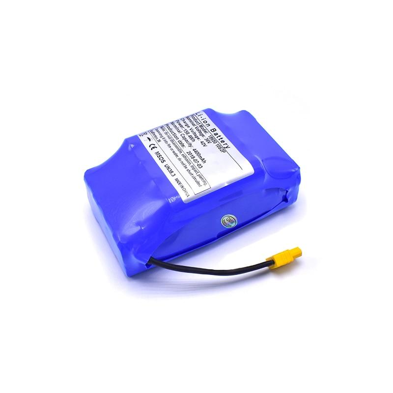 36 V 4.4AH batterie batterie rechargeable batterie au lithium pack 4400 mah batterie lithium-ion équilibre skateboard électrique hoverboard