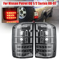 Pair Rear Tail Light Brake Lamp For Nissan Patrol GQ 1/2 Series 1988 1989 1990 1991 1992 1993 1994 1995 1996 1997 Tail Lamp