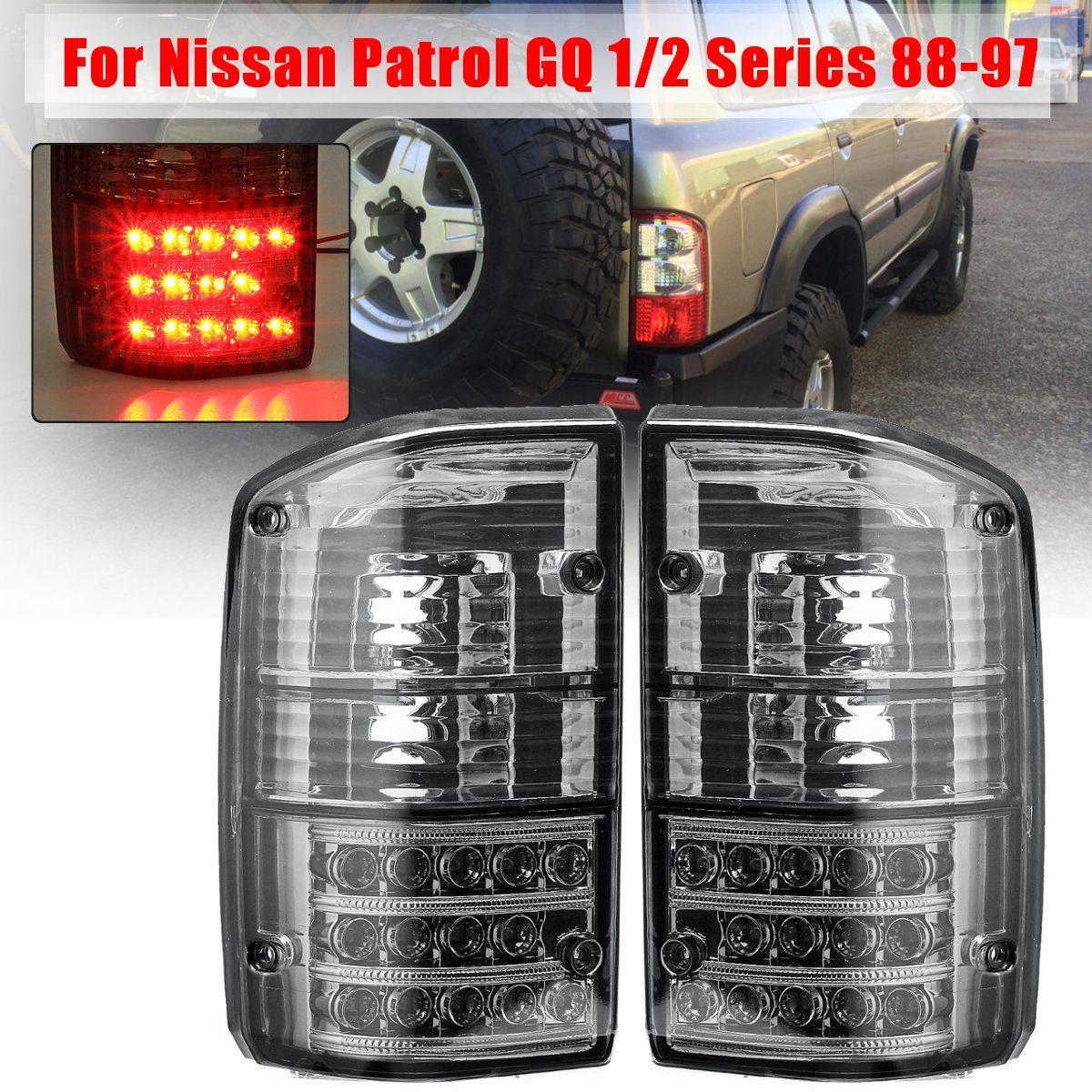 Paire Arrière feu stop Lampe Pour Nissan Patrol GQ 1/2 Série 1988 1989 1990 1991 1992 1993 1994 1995 1996 1997 Feu arrière
