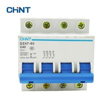 CHINT Miniature Circuit Breaker DZ47-60 40A Micro Household Air Switches 4P C40
