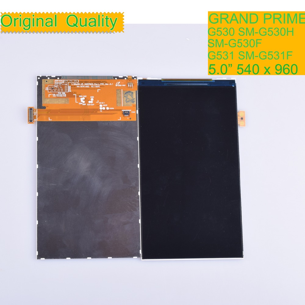 10Pcs/lot For Samsung Galaxy Grand Prime G530 G530F G530H G531 G531F LCD Display Screen Monitor Module SM G530H SM G530F-in Mobile Phone LCD Screens from Cellphones & Telecommunications