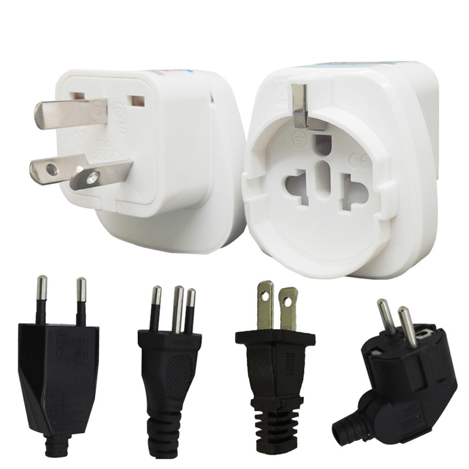 AU <font><b>CN</b></font> 2500W AC Power Electric <font><b>Plug</b></font> <font><b>To</b></font> <font><b>EU</b></font> US Italy <font><b>Plug</b></font> Universal International World Travel Adaptor Adapter Converter image