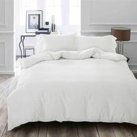 240x260 cm Supper King Size Duvet/Quilt Cover 100% Egyptian Cotton White Color Bedclothes Long Staple Cotton Quilt Cover