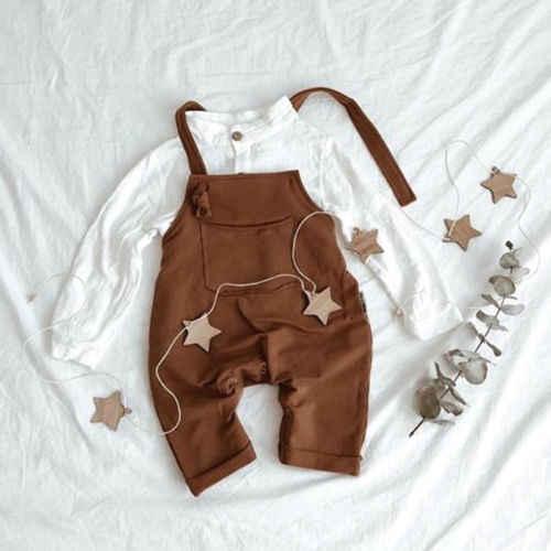 ฤดูร้อนใหม่ทารกแรกเกิด Boys กางเกงสายคล้องคอ Romper Overalls แฟชั่นชุดเสื้อผ้า 0-18 เมตร