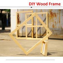 Painting Frame for Canvas Wood  Modern Oil DIY Picture Inner