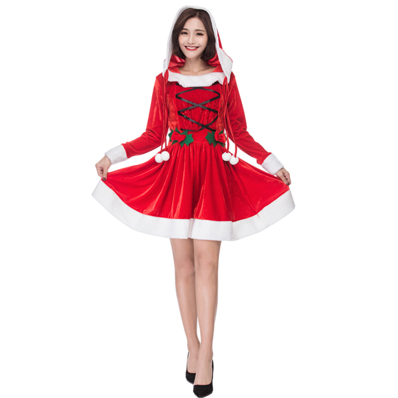 Christmas Costume Women Cute Santa Baby Cosplay For Adult Clothing