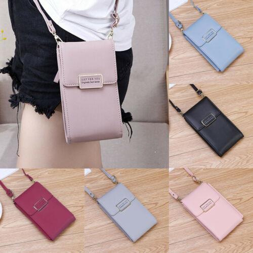 New2019 Mini Cross-body Mobile Phone Shoulder Bag Pouch Case Belt Women Men Handbag Purse Wallet Pouch Shoulder Mobile Phone Bag